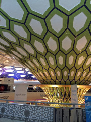 Abu Dhabi airport Global High Performance visit to the middle east