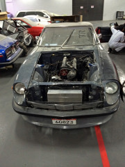 Datsun Z Global High Performance visit to the middle east