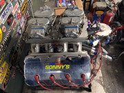 Sonny Bryant racing engine Global High Performance visit to the middle east