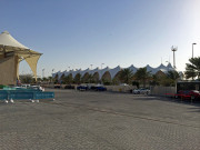 Yas Marina Pits EmiratesGlobal High Performance visit to the middle east