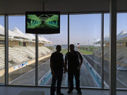 Yas Marina UAE Drag Racing Global High Performance visit to the middle east