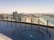 Capital gate Hyatt Abu Dhabi Global High Performance visit to the middle east