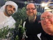 Abdulla, Donny Jordan Selfie Global High Performance visit to the Middle East