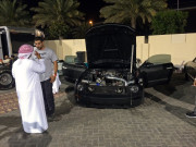 Walid Ebrahim Yas Marina Drag night Global High Performance visit to the Middle East
