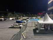 Yas Marina Drag night Abu Dhabi Global High Performance visit to the Middle East