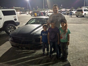 Walid Ebrahim Yas Marina Drag night Abu Dhabi Global High Performance visit to the Middle East