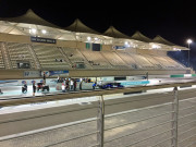 Yas Marina Drag Racing view of the line Global High Performance visit to the Middle East