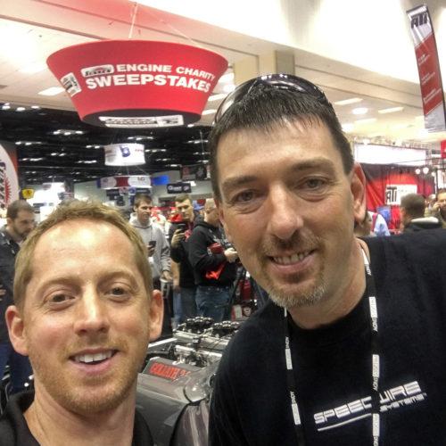 Daddy Dave selfie Goliath 2.0 2015 PRI Street Outlaws
