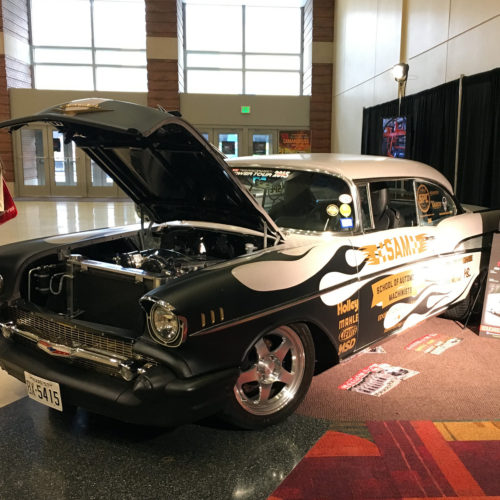 School of Automotive racing SAM 57 Chevy project
