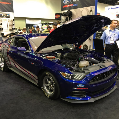 Ford Performance Cobra Jet Mustang Watson Racing 2015 PRI
