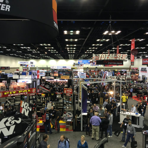 PRI show view hall 2015 performance racing industry GHP