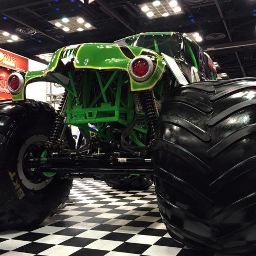 Grave Digger Monster truck 2015 PRI GHP