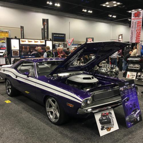 Detroit Muscle Ultra Violet 1970 dodge Challenger Ultra Violet