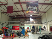 AL Anabi racing garage Doha Qatar Global High Performance visit to the Middle East