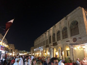 Old fashioned Souk Waqif Storefronts Doha Qatar Global High Performance visit to the Middle East
