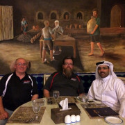 Don Parker Jr. Jordan Troggio Bader al-Sulaiti DOha Qatar Global High Performance visit to the Middle East
