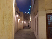 Souk Waqif back alley Doha Qatar Global High Performance visit to the Middle East
