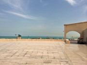 Katara Amphitheater view of sea Doha Qatar Global High Performance visit to the Middle East