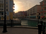 Venetian Canal The Pearl, Doha Qatar Global High Performance visit to the Middle East