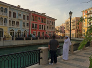 Pearl Mall Canal Venice Doha Qatar Global High Performance visit to the Middle East