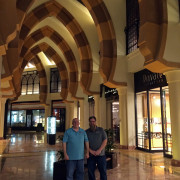 Pearl Mall inside, Doha Qatar Global High Performance visit to the Middle East