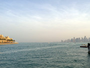 New style old Skyline Doha Qatar Global High Performance visit to the Middle East