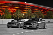Ford Mustang drag racing United Arab Emirates