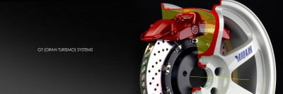 Brembo cut away image GT brakes