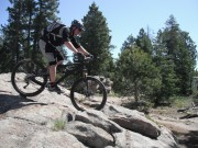 Jeremy on his Ibis MOJO HD 140 in Colorado Mountain Biking