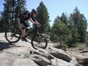 Jeremy on his Ibis MOJO HD 140 in Colorado Mountain Biking