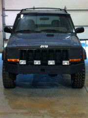 Beater cherokee getting a facelift at Global High Performance
