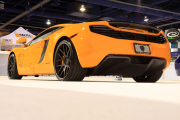Rear view Giovanna Mclaren at SEMA Global High Performance