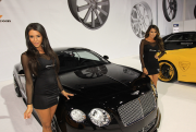 Hot girls with Giovanna Bentley Continental GT
