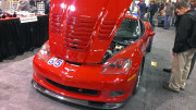 Red Chevrolet Corvette C6 by GHP at PRI 2013