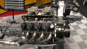 Holly Dual Quad carbs EFI LS motor aluminum Valve covers, hooker headers 2013 PRI by GHP