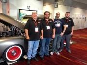Don Parker Jr., Jordan Troggio, Bader Al-Sulaiti, Ryan Ohrt of Global High Performance SEMA 2012