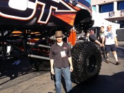 Ford Superduty SCT monster truck at SEMA 2012