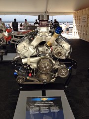 Chevrolet performance RO7 Nascar engine SEMA 2012 by Global High Performance