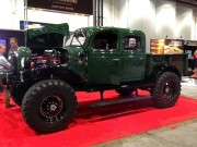 Custom monster truck Dodge powerwagon SEMA 2012 by Global High Performance