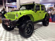 Tough Jeep Wrangler Unlimited JK SEMA 2012 taken by Global High Performance