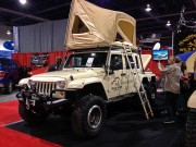 Wild Boar 3 axle Jeep Wrangler Unlimited taken by Global High Performance SEMA 2012