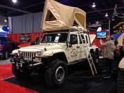 Wild Boar 3 axle Jeep Wrangler Unlimited taken by Global High Performance SEMA 2012