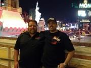 Jordan troggio and Bader Al-Sulaiti of Global High Performance in las Vegas 2012