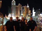 Staff of Global High Performance in Las Vegas SEMA 2012