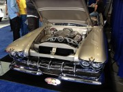 Classic cadillac custom engine SEMA 2012 taken by Global High Performance