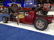Scott Whitaker ThunderRoad 29 ford roadster pickup at SEMA 2012