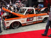 Chevy C10 at SEMA taken by Global High Performance