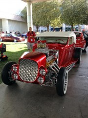 Ford Roadster at SEMA 2012 taken by Global High Performance