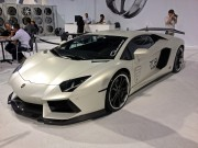 Lamborghini at Giovanna booth by Global High Performance