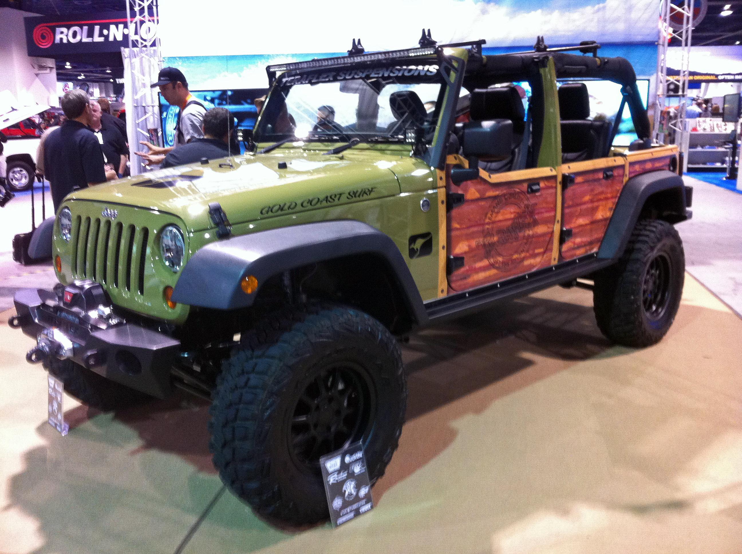 Jeep Wrangler Woodie Global High Performance